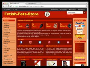 Fetish-Pets-Store Januar 2014