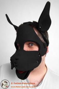 Hundemaske aus Neopren