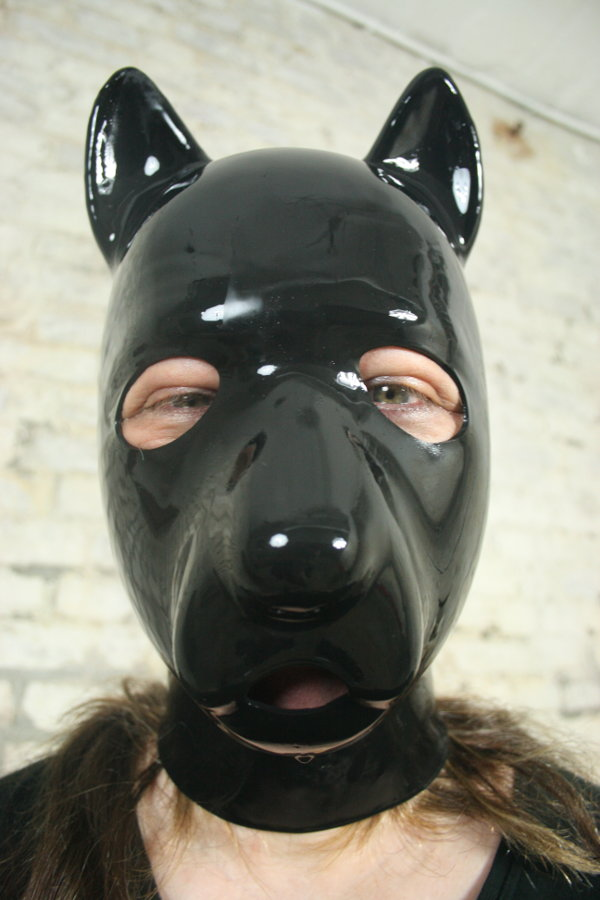 rubber dog
